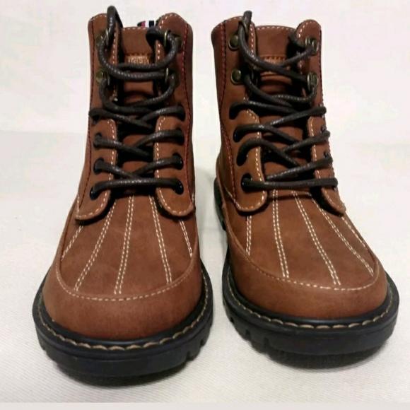 c00c878919875c Tommy Hilfiger Kids Ronald Style Cognac Boots. M 5ad929d8c9fcdf1c83c6cfed